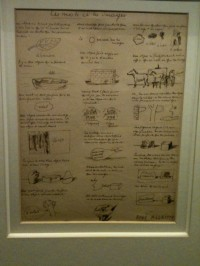 Magritte's sketches
