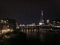 Opening of The Shard