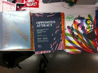 The Opposites Attract catalog at Cooper Union